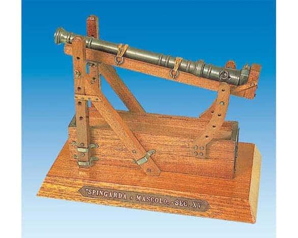 Canon espingole en bois 110x210mm 1/17 (SF068811)