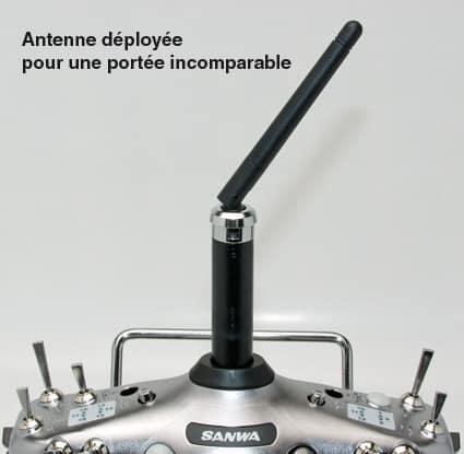 SANWA Radio 10 voies SD-10G 2.4 GHz (SF0909900)