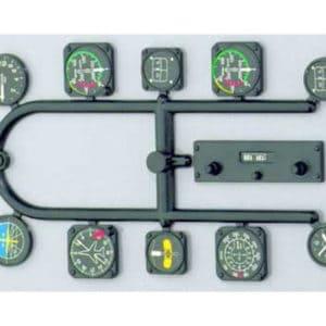 Instruments de bords pour modèles à l'échelle 1/5 (SF13430040)