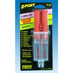 Colle Epoxy séchage rapide 5mn Z-POXY QUICK SHOT 28g (SF165PT36)