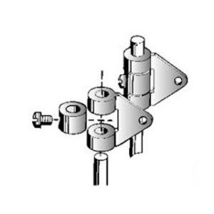 Attache ailerons pour bras diamètre 1,2 à 2mm (SFS133103)