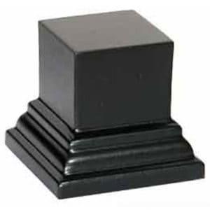 Socle S113 Carré 4x4x3 noir (PA-S113)