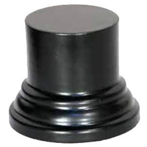 Socle SO23 Rond 6x4x4 noir (PA-SO23)