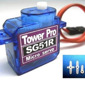 Servo   5g. micro TOWER PRO SG51R 0.6kg / 0.1sec (TPSG51R)
