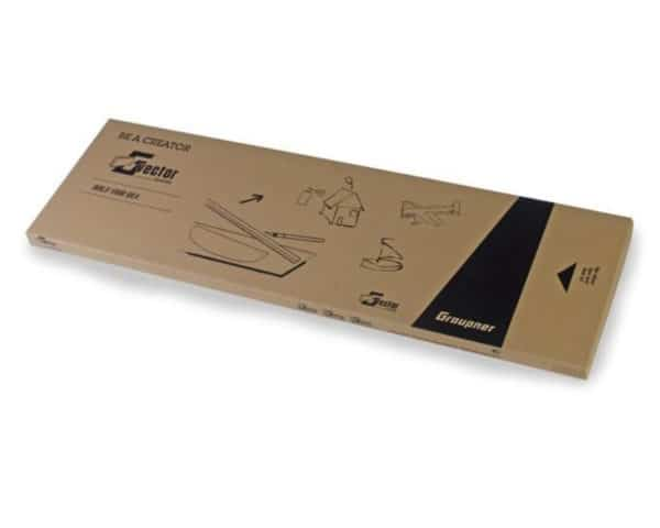 Planches Vector Boards  8,0mm 1000x300mm, Par 4 (G13300.8,0)