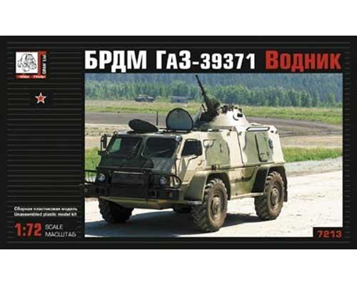 """Véhicule blindé soviétique Gaz 39 """"Vodnik BRDM"""" (VOK7213) 1/72"""