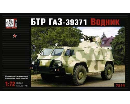 """Véhicule blindé soviétique Gaz 39 """"Vodnik BTR"""" (VOK7214) 1/72"""