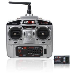 MHD Radio 4 Voies MHD4S 2,4 GHz FHSS (MHDZ01004)