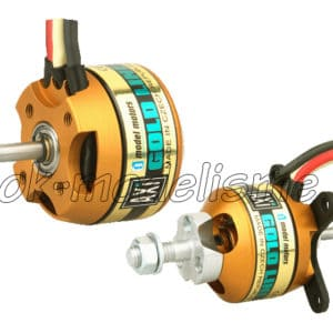 Moteur ( 45g.) Brushless AXI 2208/20 Gold Line +Kit fixation