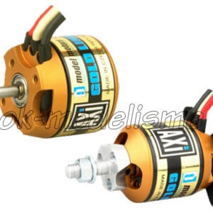 Moteur ( 69,5g.) Brushless AXI 2217/20 Gold Line +Kit fixation