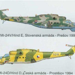 Hélicoptère Mil Mi-24 Hind D (BILEK-922) 1/72