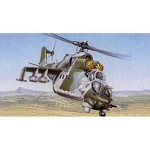 Hélicoptère Mil Mi-24D Hind V (BILEK-969) 1/72