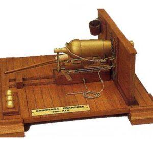 Canon de la marine française du XIXème s. 1/17 kit (SF068800)