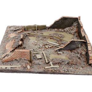 Décor des ruines Bataille de Stalingrad été (SFCONF6506A)