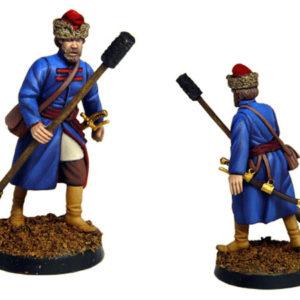 Figurine à peindre: Artilleur de Moscou, 17è siècle (dbm1103)