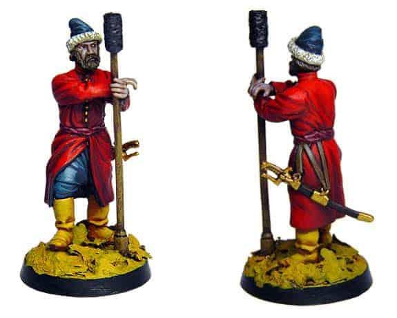 Figurine à peindre: Artilleur de Moscou, 17è siècle (dbm1114)
