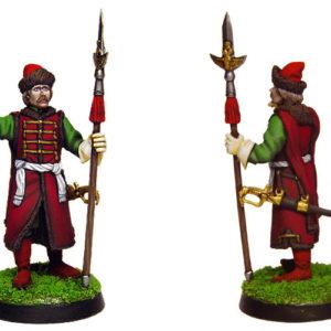 Figurine à peindre: Chef Strelets de Moscou, 17è (dbm1118)
