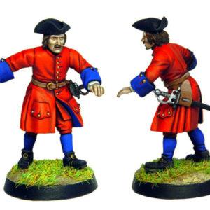 Figurine à peindre: Artilleur Russe de 1704 (dbm1212)