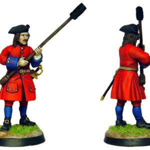 Figurine à peindre: Artilleur Russe de 1704 (dbm1213)