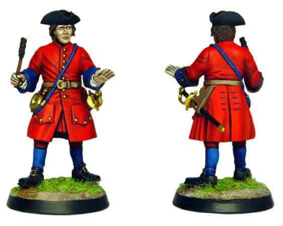 Figurine à peindre: Artilleur Russe de 1704 (dbm1214)