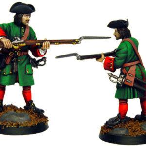 Figurine à peindre: Mousquetaire Russe, 1704 (dbm1217)