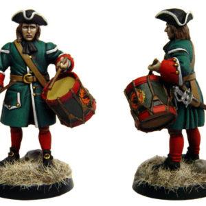 Figurine à peindre: Tambour Russe, 1704 (dbm1221)