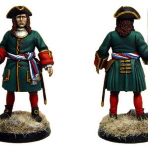 Figurine à peindre: Officier Russe, 1704 (dbm1222)
