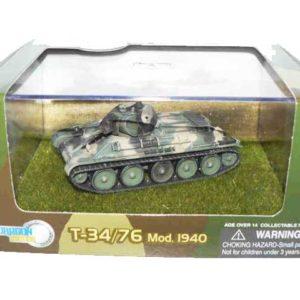 Char soviétique T-34/76 – 1940 camouflage (dragon-60149) 1/72