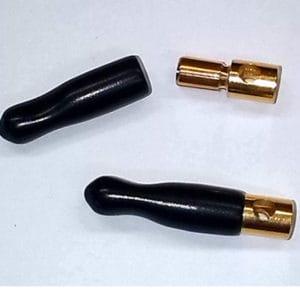 Bouchons d'isolement 5,3mm pour connecteurs or, 5 p. (em-A86017)