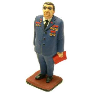 Figurine de collection LEONID BREJNEV