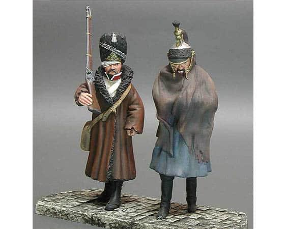 Figurine à peindre: La retraite de Moscou 1812 (mmo)