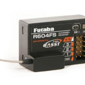 FUTABA Récepteur  4 voies R604FS 2.4GHZ (AV01000645)