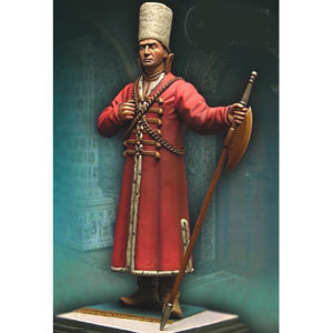 Figurine à peindre: Garde Moscovite du XVIè siècle (70 mm)