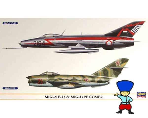 Mig-21F & MIG 17F COMBO 1/72 (H0904)