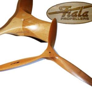 Hélice tripales bois FIALA 22×16