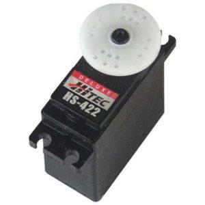 Servo  45,5g. Hitec HS-422 pignons nylon (44.036)