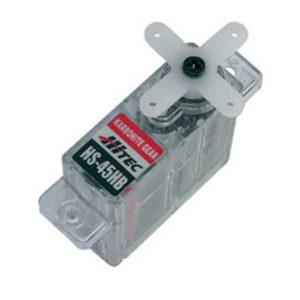 Servo   8g. Hitec HS-45HB Micro – pignons nylon (44.312)