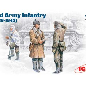 Infanterie de l'Armée Rouge Hiver (icm35051) 1/35