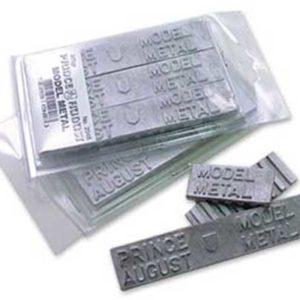 Accessoires de moulage: Métal blister de 3 barres (PA2048)