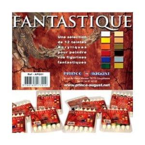 Peinture pack APG01 Fantastique 12 pots Prince August (PAPG01)