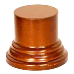 Socle SO11 Rond 5x4x3 noisette (PA-SO11)