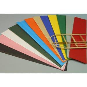 Papier Japon turquoise (SF12559185F)