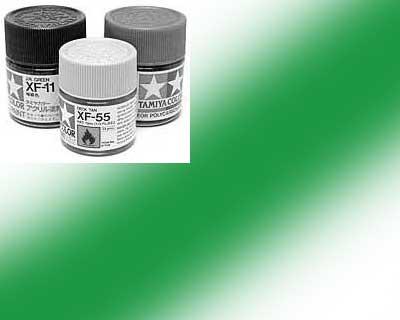 81525-X25 Peinture Tamiya 10 ml – Vert translucide