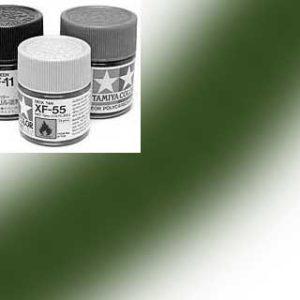 81713-XF13 Peinture Tamiya 10 ml – Vert armée de l'air mat