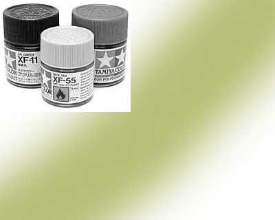 81721-XF21 Peinture Tamiya 10 ml – Vert beige mat