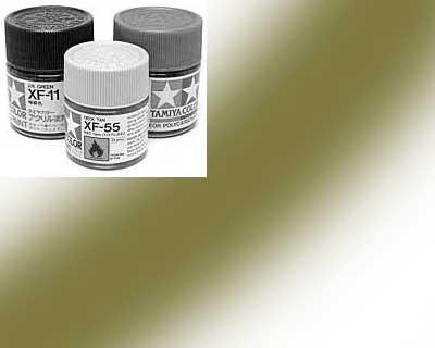81749-XF49 Peinture Tamiya 10 ml – Kaki mat