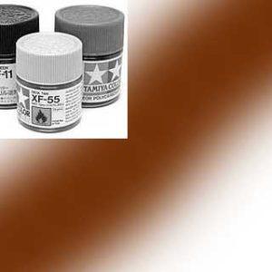 81768-XF68 Peinture Tamiya 10 ml – Brun OTAN mat