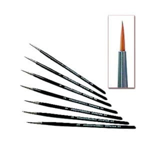 Pinceau Synthétique Poil Long   3/0 (PA3/0310)