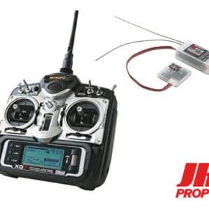 JR Radio XG7 DMSS 7 voies avec télémétrie, Mode 1 (T2MJRXG7)