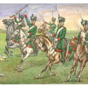 Cavalerie légère Russe (strelets018) 1/72